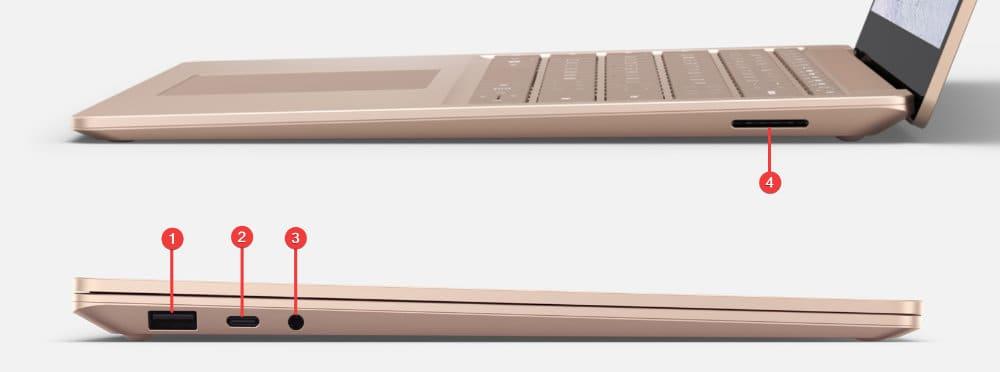Surface Laptop 3 Ports