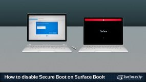 Here's how to disable secure boot on Microsoft Surface Book