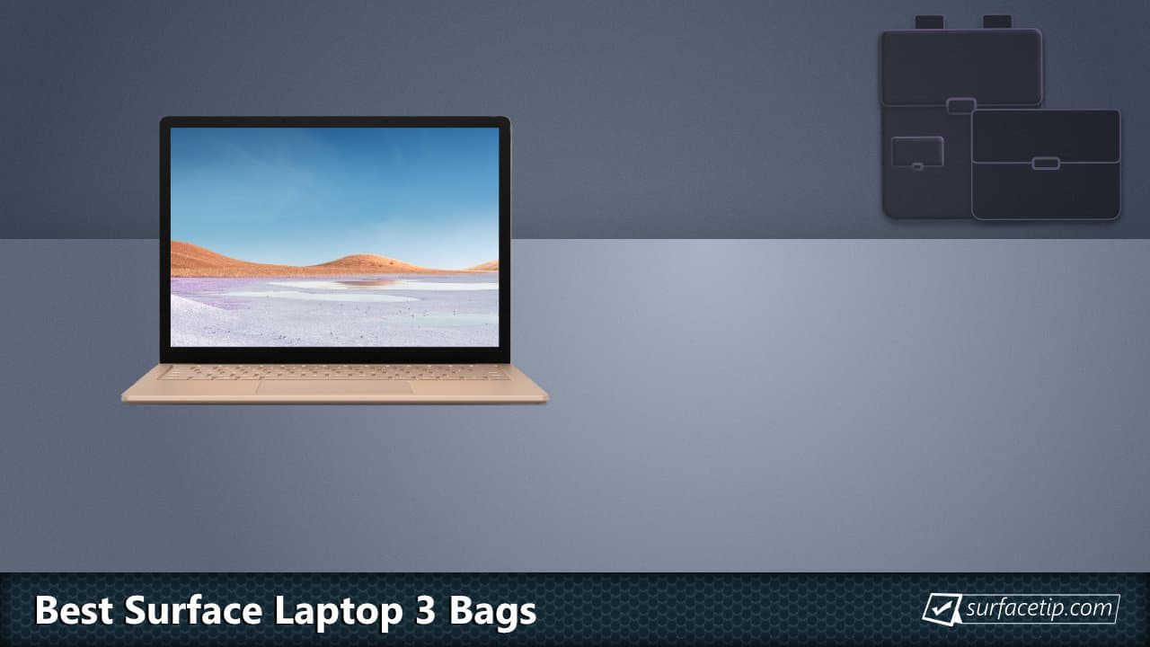 Best Surface Laptop 3 Bags and Backpacks