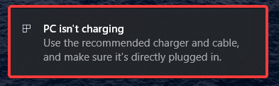 Unsupported Chargers Plugin